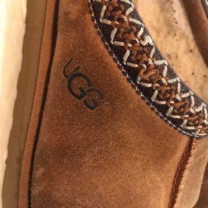 Brown suede Tasman UGG slippers size 9